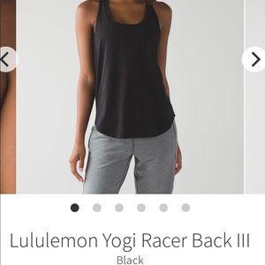 Lululemon Yogi Racerback Tank